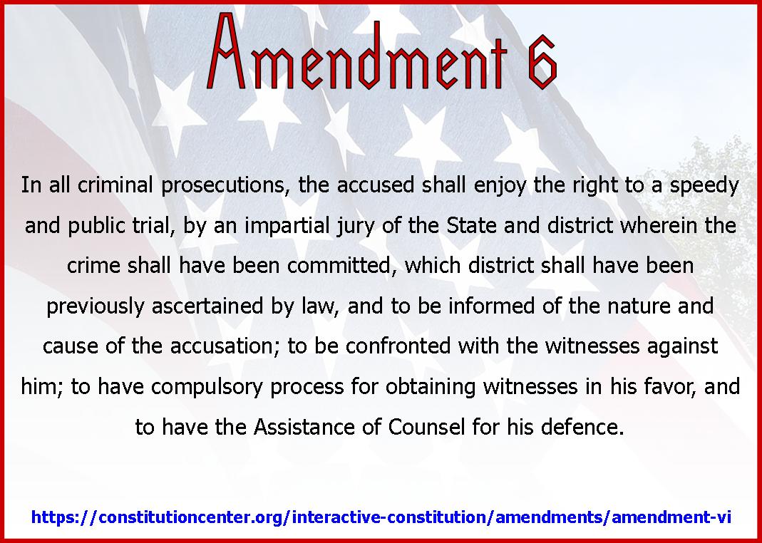 Amend 6