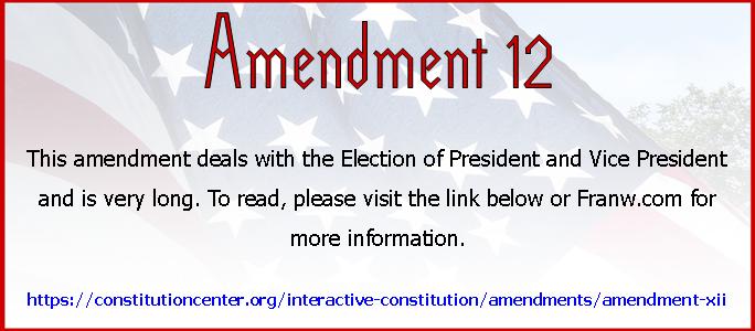 Amend 12