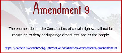 Amend 9