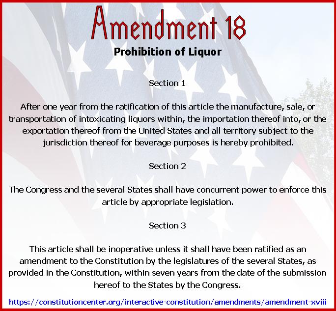 Amend 18