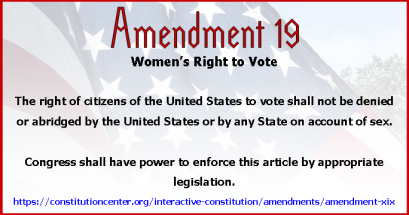 Amend 19