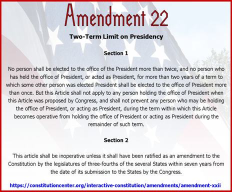 Amend 22
