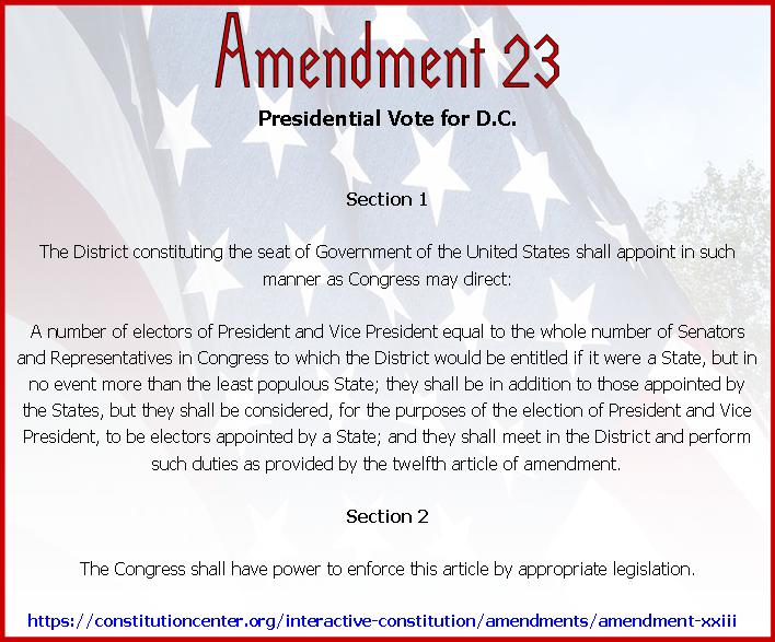 Amend 23