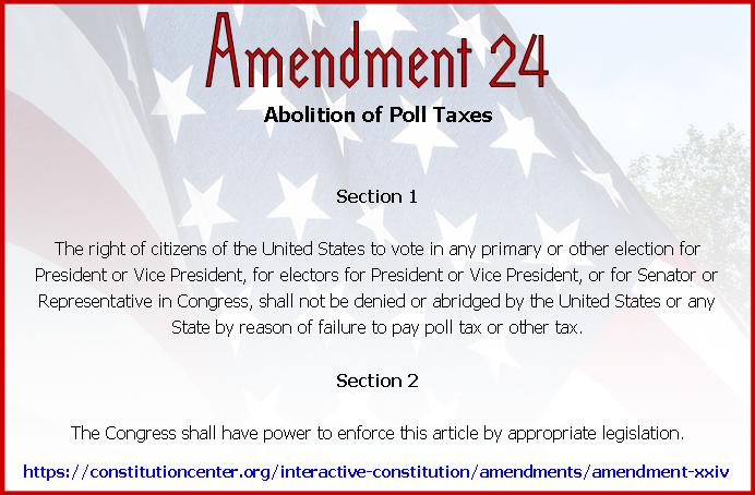 Amend 24