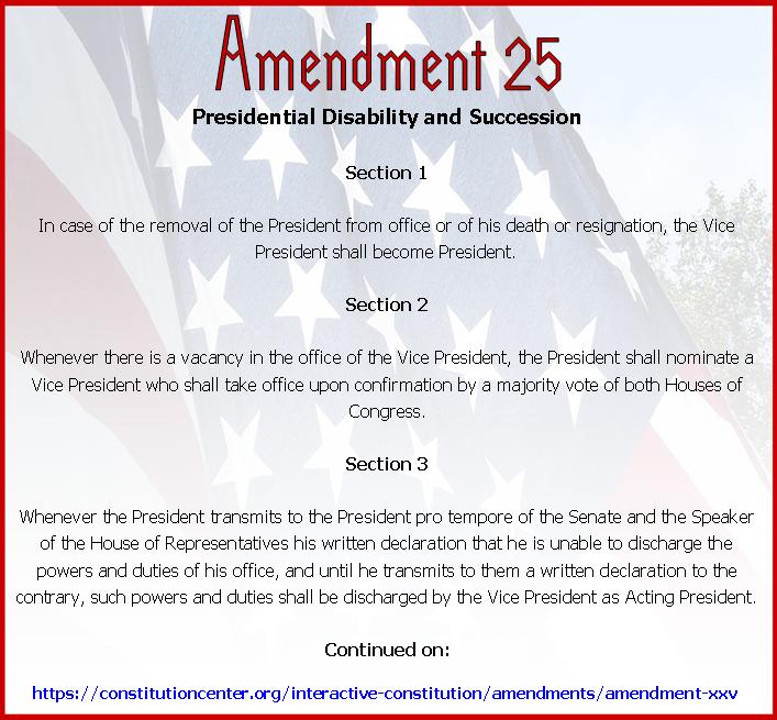 Amend 25