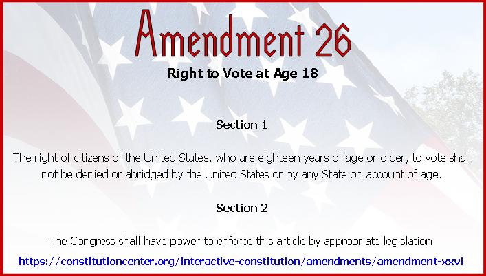 Amend 26